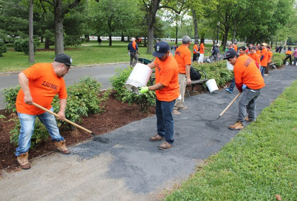 Park Cleanup Weekend: Local 79 Volunteers Needed