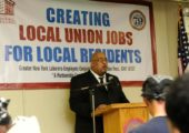 Lavon Chambers, GNY-LECET Assistant Director & Local 79 Member, Retires