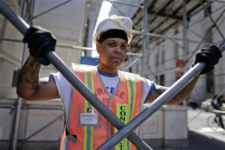 Photo of female Shop Steward