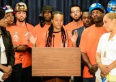 Local 79 Apprentices Lobby in Albany