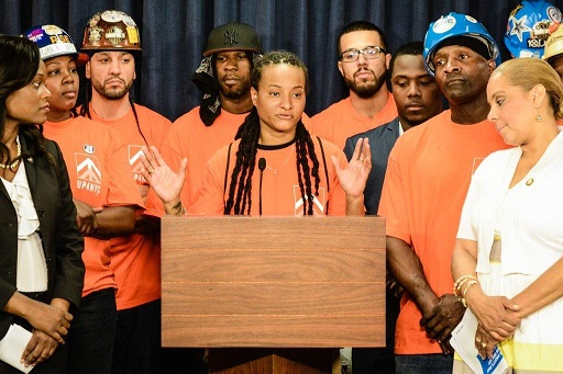 Local 79 Apprentices Speaking in Albany