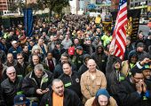 Building Trades Solidarity Rally