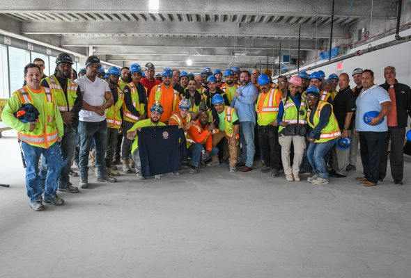 Laborers Local 79 at Manhattan West Mega-Development
