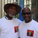 David Melton and member at 2015 African-American Day Parade