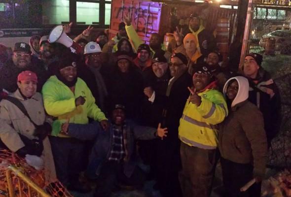 East New York Rally Draws a Thousand People
