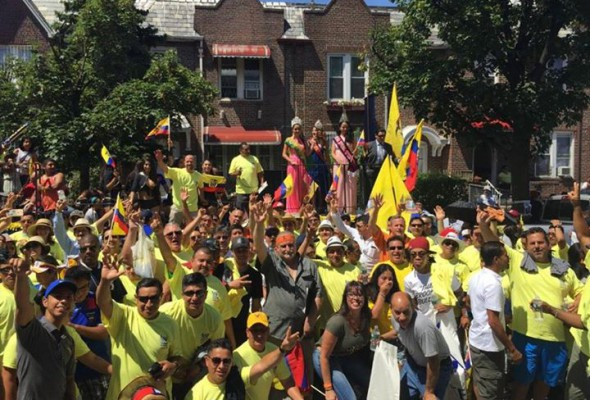 Local 79 Members Attend Ecuadorian Day Parade