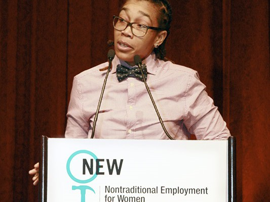 Nontraditional Employment for Women Honors Local 79 Member