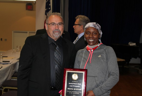 Felicia Mcintosh is Local 79's 2015 Woman of the Year
