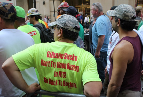 Local 79 Tells Gilbane: Go Union or Get Out of Town!