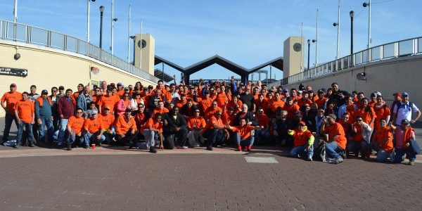 Local 79 Volunteers at Flushing Meadows-Corona Park Cleanup Day