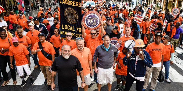 Local 79 Came Out Strong for Labor Day