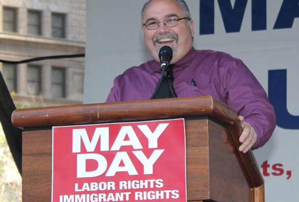 May Day Rally Draws Huge Crowd