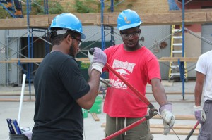 Photos of apprentices at MTTF