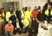 Local 79 Job Site Visit at 911 Call Center Project in The Bronx