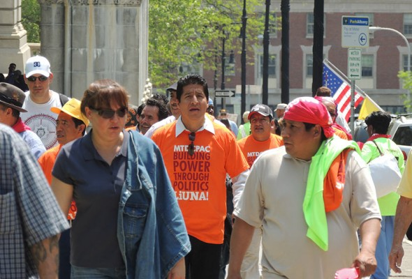 Immigration Reform Now!: Local 79 Joins Rally in Washington DC