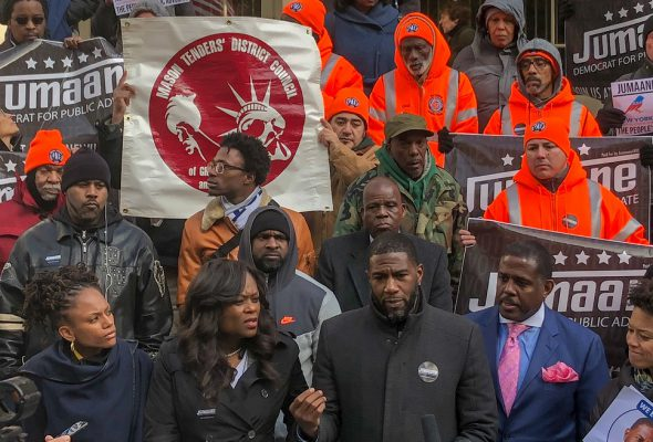Mason Tenders Endorse Jumaane Williams for NYC Public Advocate