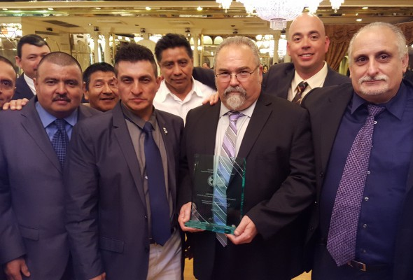 Labor Committee for Latin American Advancement Honors Local 79 Business Manager Mike Prohaska