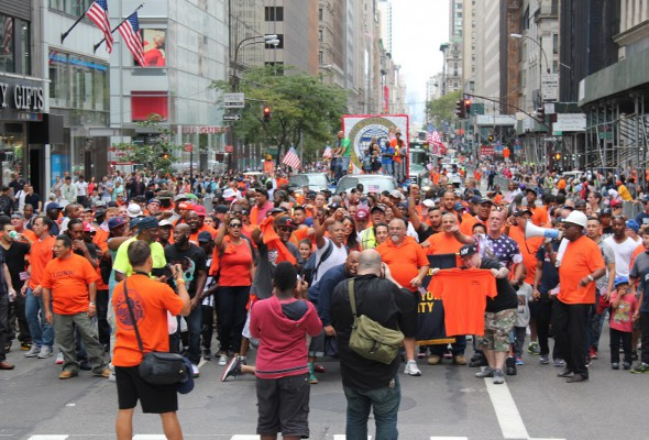 Local 79 Marches in Labor Day Parade