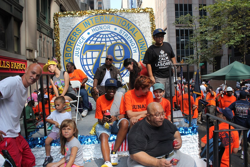 Photo of Local 79 Labor Day Float