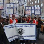 Latino Banner at May Day 2015