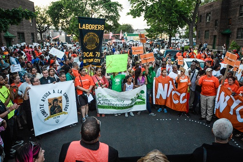 Hundreds Join May 12th Rezoning Rally in East New York