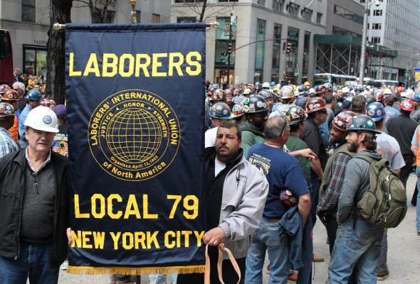 Construction Workers Attend Memorial Mass