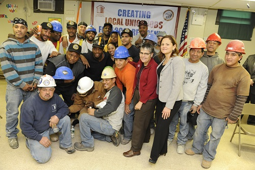 Photo of Local 79/NYCHA Workers