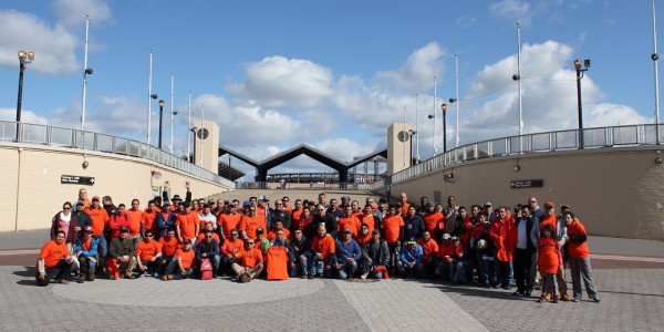 Local 79 Volunteers at 2016 Flushing Meadows-Corona Park Cleanup Day