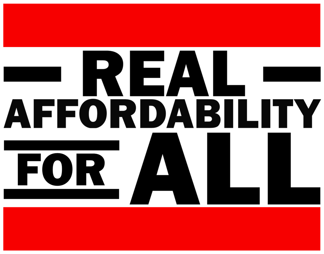 Logo of Real Affordability for All