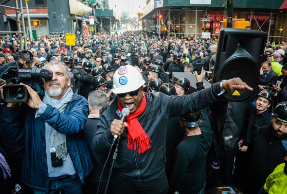 Huge Rally Demands Stronger Construction Safety Standards