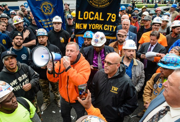 Construction Workers Memorial Mass and Rally