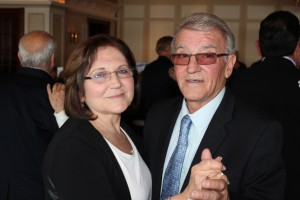 Retiree Couple Dancing
