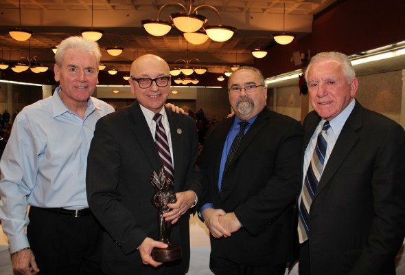 Director of World Trade Center Construction Receives Honor from LiUNA General President