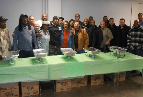 Local 79 Volunteers Serve Up Thanksgiving Feast