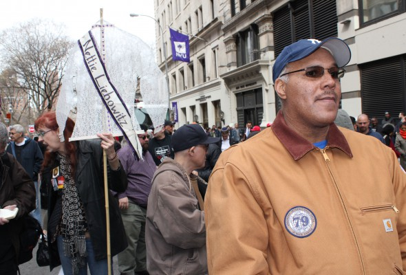 Local 79 Members Commemorate Triangle Shirtwaist Factory Fire