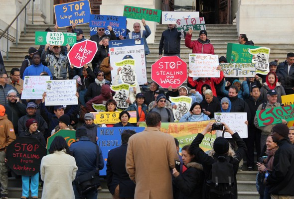 New York Coalition Against Wage Theft Issues Report