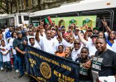 Local 79 at African American Day Parade