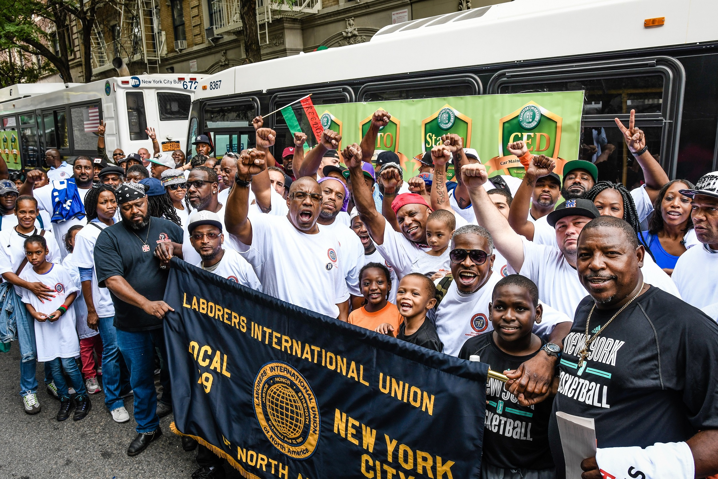 local 79 at african american day parade construction general