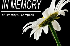 Notice of Death: Timothy G. Campbell