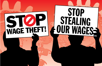 Stop Wage Theft Logo